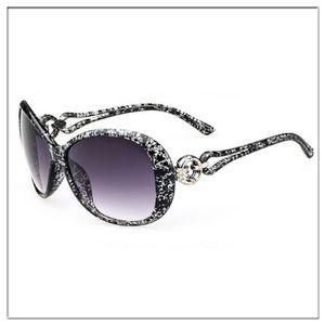 Accessories - NEW Oversized Cool Black Wide Women Sunglasses
